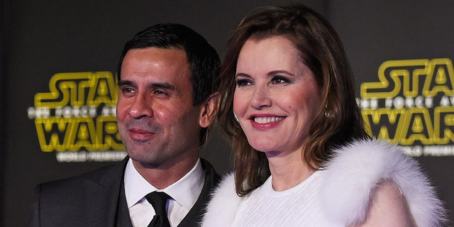 Geena Davis is reportedly claiming that she and Reza Jarrahy were never legally married, according to documents obtained by The Blast.
