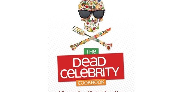 "Cover of Frank Decaro's ""Dead Celebrity Cookbook."""