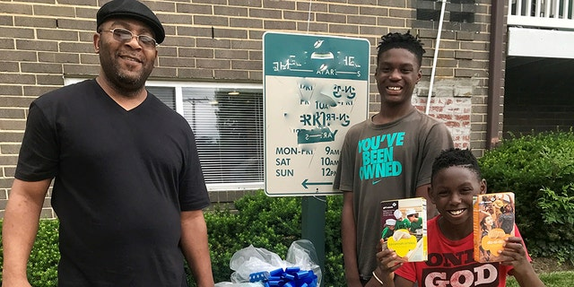 A family ORHF recently helped during a move-in.