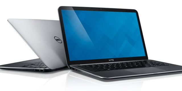 Back-to-back Dell XPS 13 (9333) ULT notebook computers.