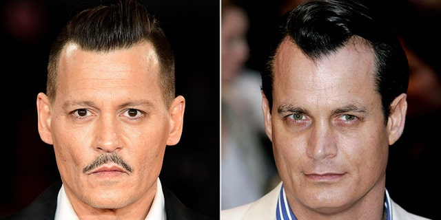 Hollywood actor Johnny Depp (left) might be up for the role of late billionaire Matthew Mellon.