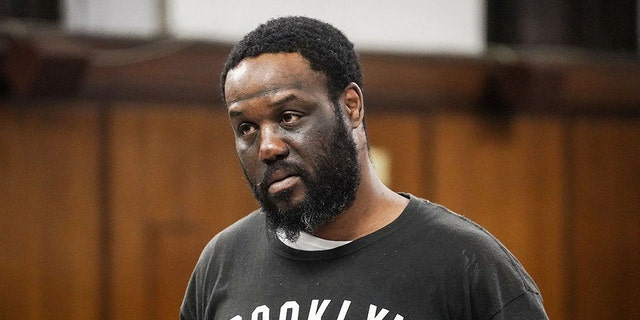 Derrick Boyce, 40, is accused of beating up Jeremy Goldberg while he was out with his wife in New York City.