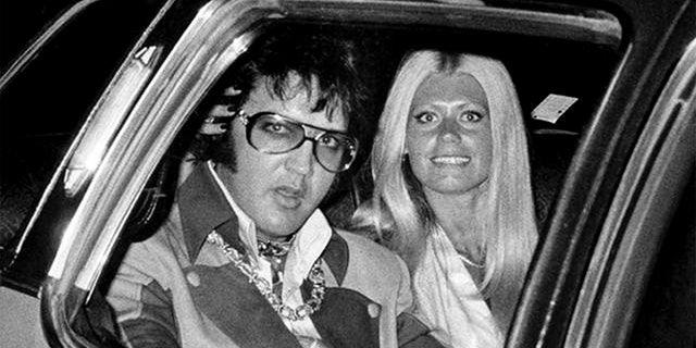 Elvis Presley with Diana Goodman.