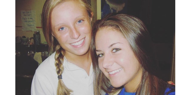 Thacher, left, is a freshman at Sierra Nevada College.