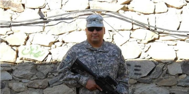 Sgt. Daniel Diaz was stationed near burn pits at Joint Base Balad in Iraq and now is bed ridden from multiple illnesses including various forms of aggressive cancer.