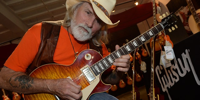 """Dickey Betts, the founding Allman Brothers Band guitarist, has been hospitalized following a """"freak accident"""" at his home in Little Sarasota Bay, Florida."""