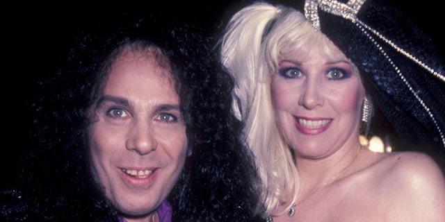 Ronnie James Dio and Wendy Dio.