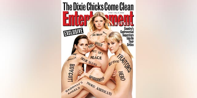 Entertainment Weekly Cover Dixie Chicks Issue #708