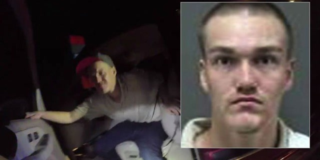Dmitry Zellmer was arrested after he attacked a police officer during a traffic stop.