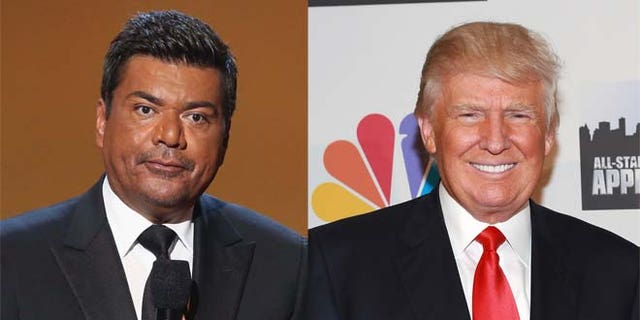 George Lopez is in hot water after a joke he made about Donald Trump.