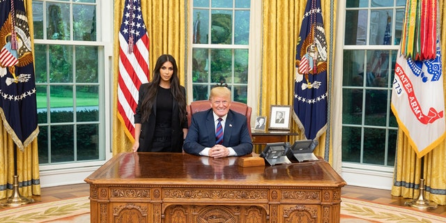 Kim Kardashian West met with Trump last week.