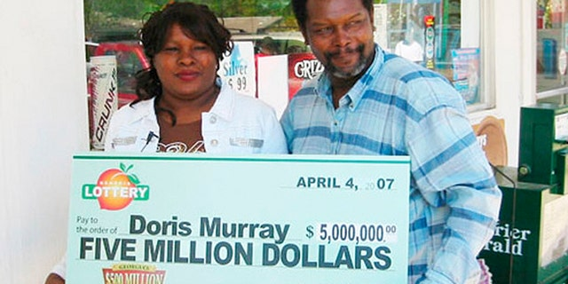 Doris Murray was found stabbed to death a year after winning $5 million in the Georgia lottery.