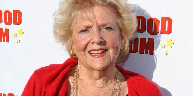 "This Aug. 4, 2011 file photo originally released by CBS DVD shows actress Doris Singleton arriving at the ""Lucille Ball At 100 & 'I Love Lucy' At 60"" opening gala at The Hollywood Museum in Los Angeles."