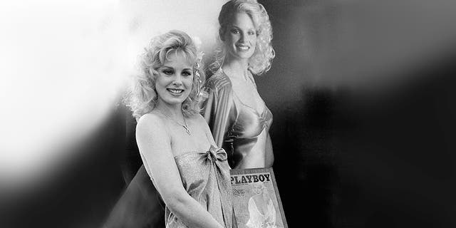 Stratten as she was named 1980 Playmate of the Year.