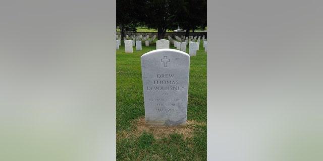 Drew DeVoursney had been stationed in Fallujah in 2004. (Facebook)