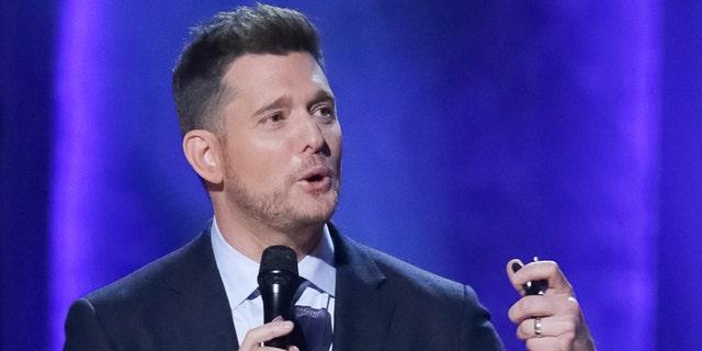 Singer Michael Bublé.