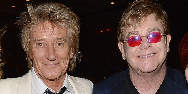 Rod Stewart said he feels that Elton John's retirement tour is a ploy to sell tickets.