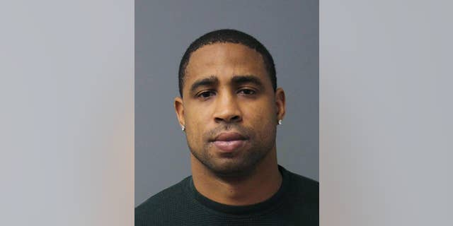 This photo provided by the Loudoun County Sheriff's Office shows former Washington Redskins cornerback Fred Smoot.  Smoot has been charged with misdemeanor domestic assault following a weekend altercation.  The Loudoun County Sheriff's Office said Smoot was arrested after a woman called police Sunday and said that her boyfriend had grabbed her during an altercation in an Ashburn home. (AP Photo/Loudoun County Sheriff's Office)