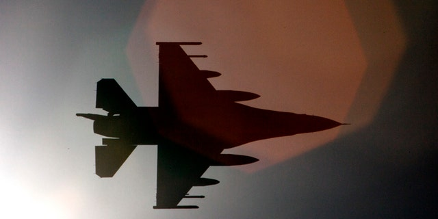 June 10, 2013: An F-16 Fighting Falcon from the 180th Fighter Wing, Ohio Air National Guard, arrives at a training base in Northern Jordan as part of Exercise Eager Lion.