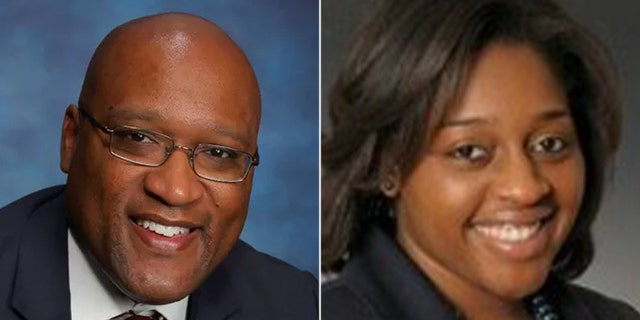 Durham County District Attorney Roger Echols and Assistant District Attorney Ameshia Cooper