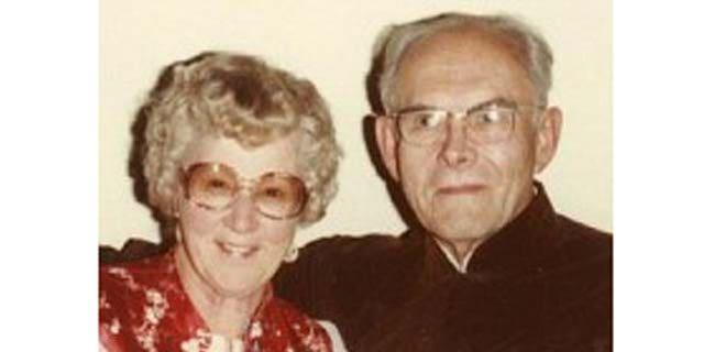 Edythe and her husband Joe. Courtesy photo.