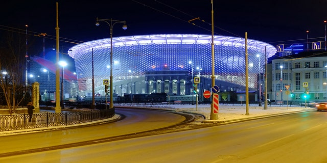 Ekaterinburg Arena in Yekaterinburg, Russia, is famous for its unusual design.
