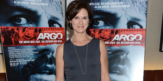 """NEW YORK, NY - OCTOBER 09:  Elizabeth Vargas attends the """"Argo"""" screening at the Time Warner Screening Room on October 9, 2012 in New York City.  (Photo by Jason Kempin/Getty Images)"""