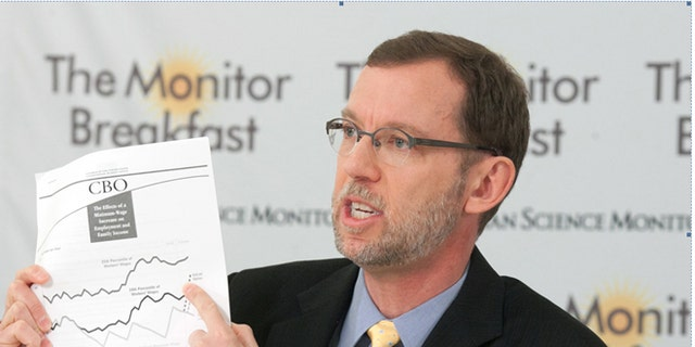 Feb. 19, 2014: Congressional Budget Office Director Douglas Elmendorf, Washington, D.C.