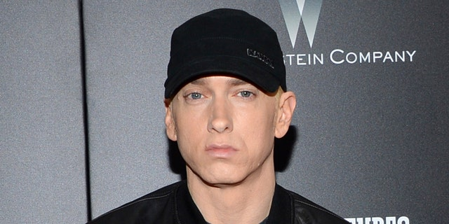 """Rapper Eminem blasted Trump again Thursday, saying the president """"duped"""" Americans."""