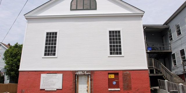 This image provided by Katie Uffelman and released by The National Trust for Historic Preservation shows the Abysinian Meeting House in Portland, Maine. The trust put the house on its 2013 list of 11 Most Endangered Historic Places. For generations of African Americans, the Abyssinian Meeting House was a spiritual center in Portland, but now it needs funding to be preserved for the future. (AP Photo/The National Trust for Historic Preservation, Katie Uffelman)