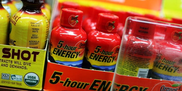The drink 5-Hour Energy is viewed for sale at a grocery store in New York City.