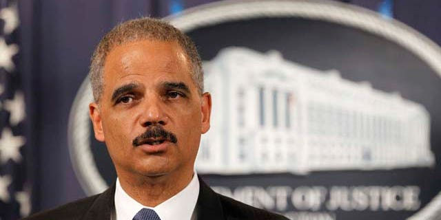 "Former Attorney General Eric Holder is warning that firing Special Counsel Robert Mueller would cross a ""RED LINE."""