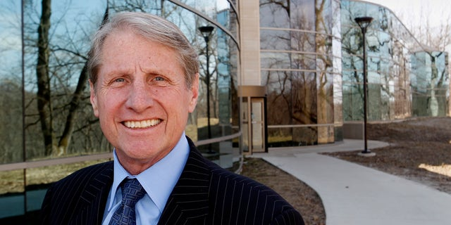 This Monday, April 4, 2011 file photo shows Russ Wasendorf, Sr., CEO of Peregrine Financial Group, Inc., in Cedar Rapids, Iowa.