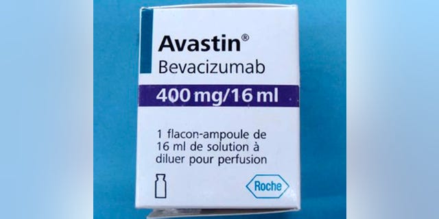 A counterfeit package for the cancer drug Avastin. (AP Photo/Genentech)
