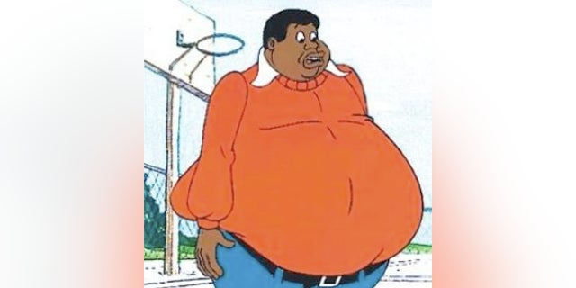 """Fat Albert was known for his catchphrase, """"Hey, hey, hey!"""""""