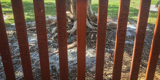 Parkland city officials removed Nikolas Cruz's name from a fence that he helped build.