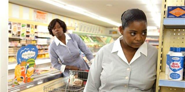 Viola Davis (L) and Octavia Spencer in 'The Help' (AP)