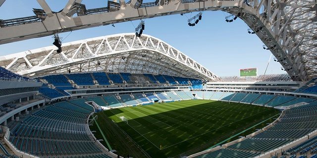 Fisht Stadium in Sochi hosted the opening and closing ceremonies for the 2014 Winter Olympics.