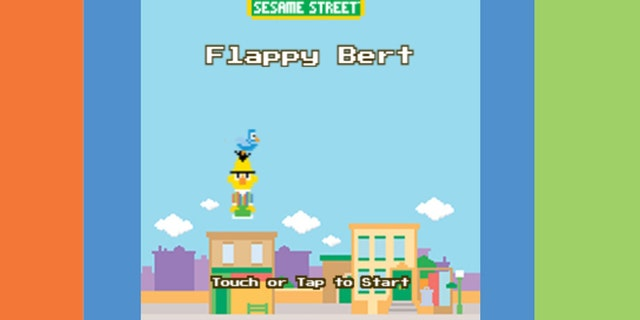 """Children's Television Workshop has released a """"Flappy Bird"""" clone, called (unsurprisingly) """"Flappy Bert."""""""