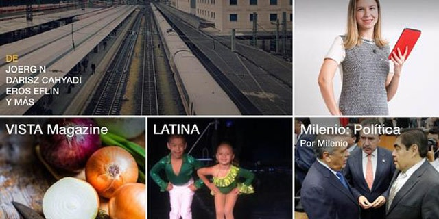 Flipboard is the place to find publications and news sources popular with Latin audiences in the United States.(PRNewsFoto/Flipboard)