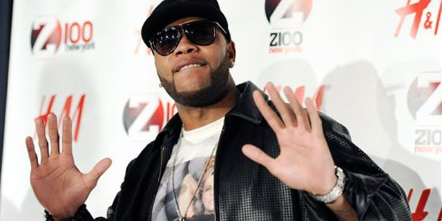 Dec. 10, 2010: Hip-hop artist Flo Rida attends the Z100 Jingle Ball concert at Madison Square Garden in New York.