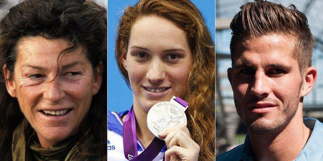 French athletes Florence Arthaud, Camille Muffat and Alexis Vastine died in 2015 during a midair collision between two helicopters.