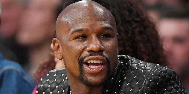 Floyd Mayweather.  (Associated Press)