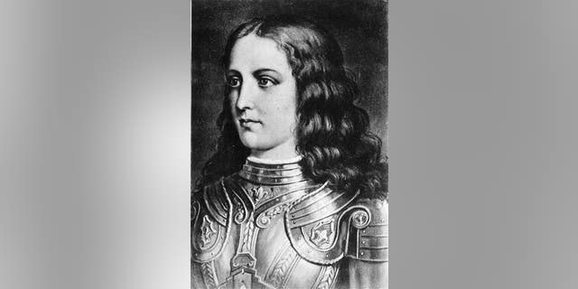 This undated file photo shows a portrait of Joan of Arc.