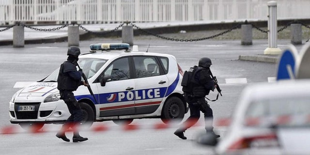 French President Francois Hollande said extra police were immediately deployed at industrial sites around the nation following Friday's attack. (Reuters)