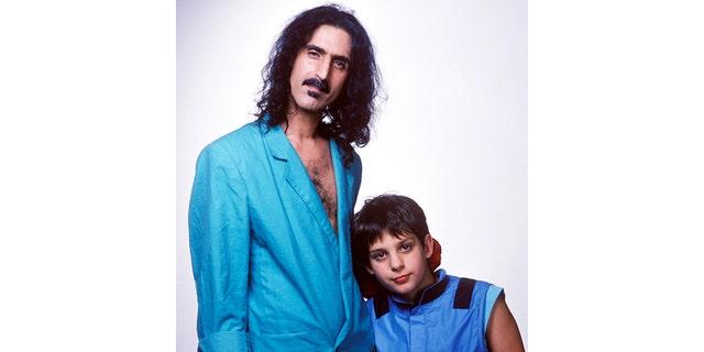 Frank and Ahmet Zappa