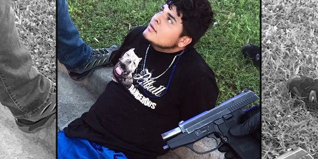 Platero-Rodriguez was found with a 9 mm pistol, which the Berkeley County Sheriff's Office said could have been the weapon used in the murder of a man in Texas earlier this year.