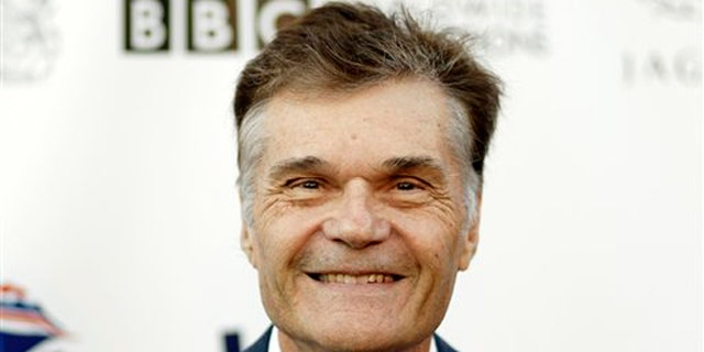 Fred Willard played Donald Trump's deceased father.