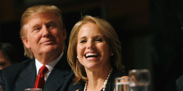 TODAY -- Friars Club Roast & Celebrity Luncheon In Honor of Matt Lauer -- Date 10/24/2008 -- Pictured: (l-r) Donald Trump, news anchor Katie Couric -- Celebrities gather for Friars Club Annual Roast, this year in honor of Matt Lauer  (Photo by Heidi Gutman/NBC/NBCU Photo Bank via Getty Images)
