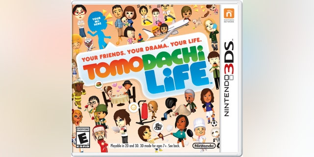 """This photo provided by Nintendo shows the cover of the video game, """"Tomodachi Life."""""""